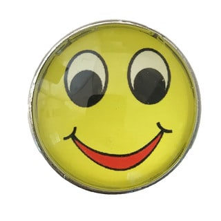 Smiley Face Drawer Pulls, Knobs - Pack of 6