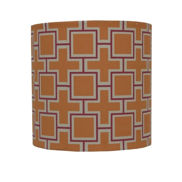 Decor Therapy Geo-print Lamp Shade