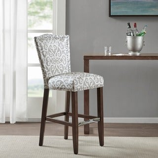 Madison Park Everitt Taupe Nate 30-inches Bar Stool