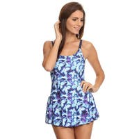 Dippin' Daisy's Women's Blue Periwinkle 1-piece Swimdress