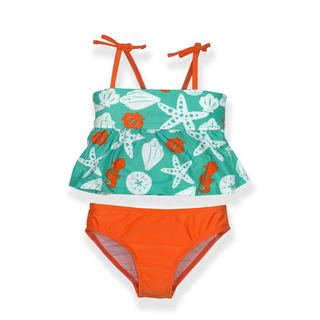 Jump'N Splash Small Girls' Seashell Tankini Set