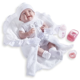JC Toys White 15.5-inch Deluxe Realistic Doll with Gift Set