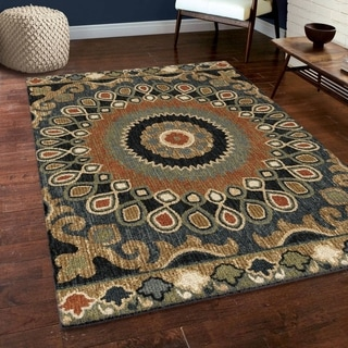 Link to Orian Rugs Carolina Wild Indo China Multi-Color Similar Items in Transitional Rugs