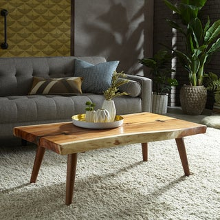 INK+IVY Arcadia Rectangle Wood Coffee Table