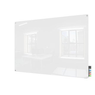 Harmony Magnetic White Glass 2 x 3 Dry Erase Board