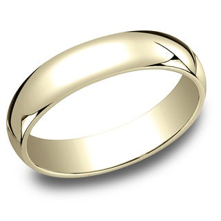 Ladies 10k Yellow Gold 5 Millimeter Traditional Fit Wedding Band 10K Yellow Gold