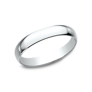 Women's 10K White Gold Traditional-fit Wedding Band