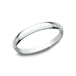 Link to Women's 10K White Gold Traditional Fit Wedding Band - 10K White Gold - 10K White Gold Similar Items in Wedding Rings