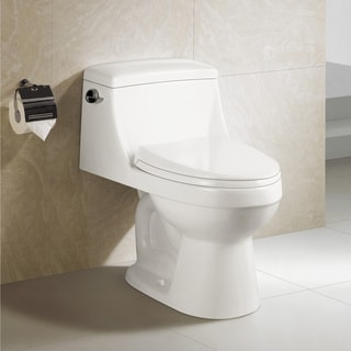 swiss Madison® Voltaire® One Piece Elongated Toilet Side Flush 1.28 gpf