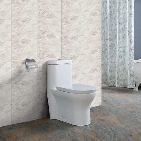 Swiss Madison Monaco Dual Flush 0.8/1.28 GPF 1-piece Elongated Toilet