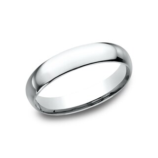 Women's 14k White Gold Midweight Comfort-fit 4mm Wedding Band|https://ak1.ostkcdn.com/images/products/13842499/P20485954.jpg?_ostk_perf_=percv&impolicy=medium
