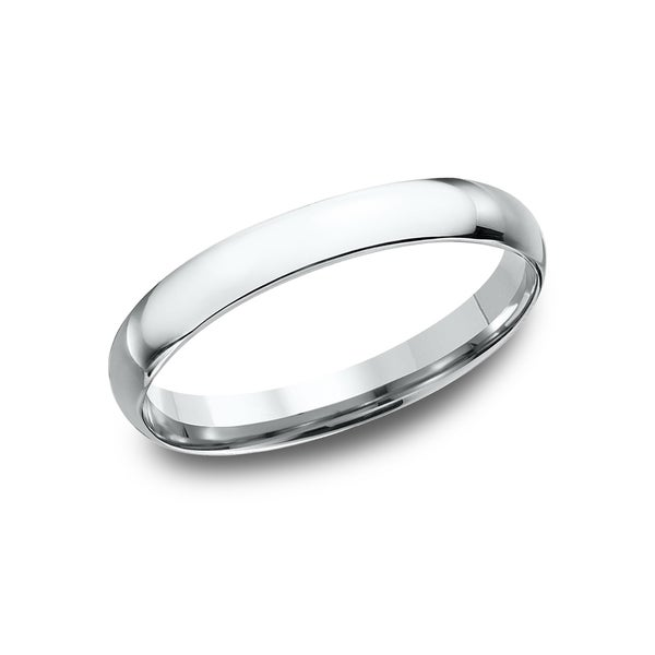White Gold Wedding Band.Women S 14k White Gold Midweight Comfort Fit 3mm Wedding Band 14k White Gold