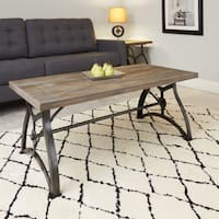Beckett Industrial Collection Coffee Table by Silverwood