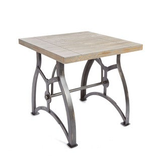 Beckett Industrial Collection End Table by Silverwood