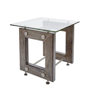 Knox Industrial Collection End Table by Silverwood