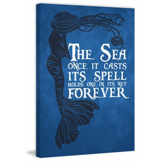 Marmont Hill - 'Sea Spell I' by Gareth Clegg Painting Print on Wrapped Canvas