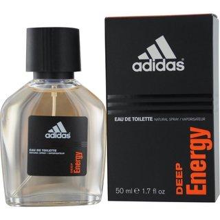 Adidas Deep Energy Men's 1.7 ounce Eau de Toilette Spray