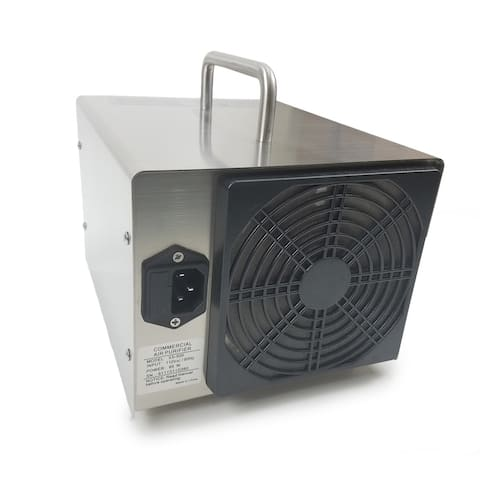 Odor Eliminating Steel Commercial Ozone Generator by New Comfort - Silver