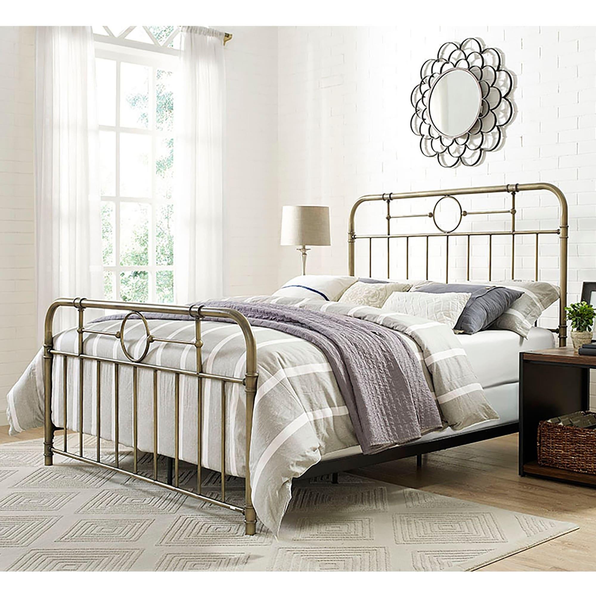 Bronze Pipe Metal Bed