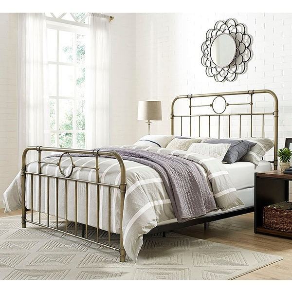 Metal Bedroom Furniture | Buy Queen Size Metal Beds Online At Overstock Our Best