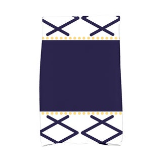 16 x 25-inch, Knot Fancy, Geometric Print Hand Towel