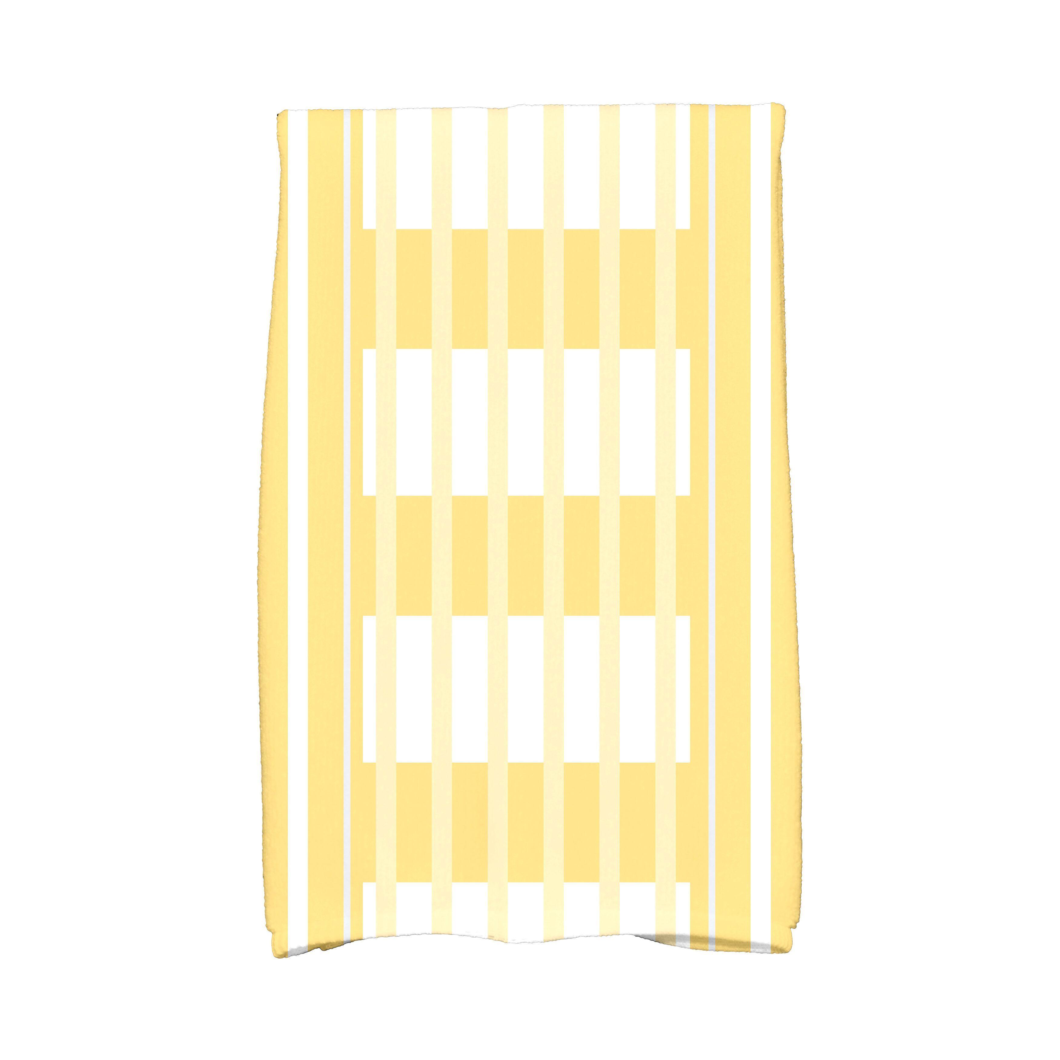 E By Design 16 x 25-inch, Beach Blanket, Stripe Print Kit...