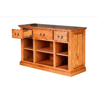 Forest Designs Wooden Traditional Console Table