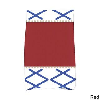 16 x 25-inch, Knot Fancy, Geometric Print Kitchen Towel