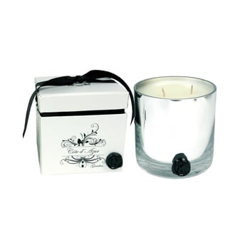 Cote D'Azur Garden Soy Wax Two-wick Candle in Glass Holder