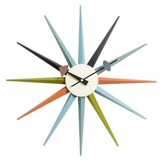 MLF Sunburst Clock