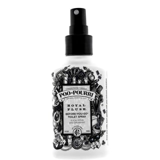 Poo-Pourri Royal Flush 4-ounce Before-You-Go Toilet Spray