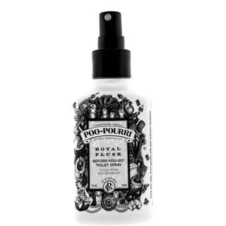 Poo-Pourri Royal Flush 4-ounce Before-You-Go Toilet Spray