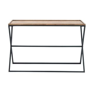 Studio 350 Metal Wood Console 47 inches wide, 32 inches high