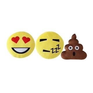 VCNY Home Emoji 3 Pack Decorative Pillow Set