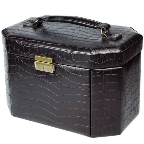Leatherette Luxury Lockable Jewelry Box