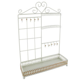Ikee Design Metal Jewelry Display and Jewelry Stand Hanger Organizer