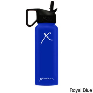 Xtreme Canteen 18/8 Stainless Steel 40-ounce Double-walled Vacuum-insulated Wide-mouthed Water Bottle