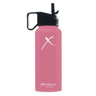 Xtreme Canteen 18/8 Stainless Steel and Plastic 32-ounce Double-wall Vacuum-insulated Wide-mouth Water Bottle with Straw Lid https://ak1.ostkcdn.com/images/products/13847142/P20489787.jpg?impolicy=medium