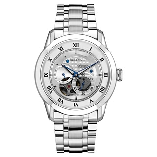 Bulova Men's 96A118 Silver Stainless Steel Water-resistant Watch