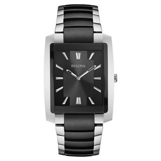 Bulova 98A117 Men's Two-tone Stainless-steel Water-resistant Watch