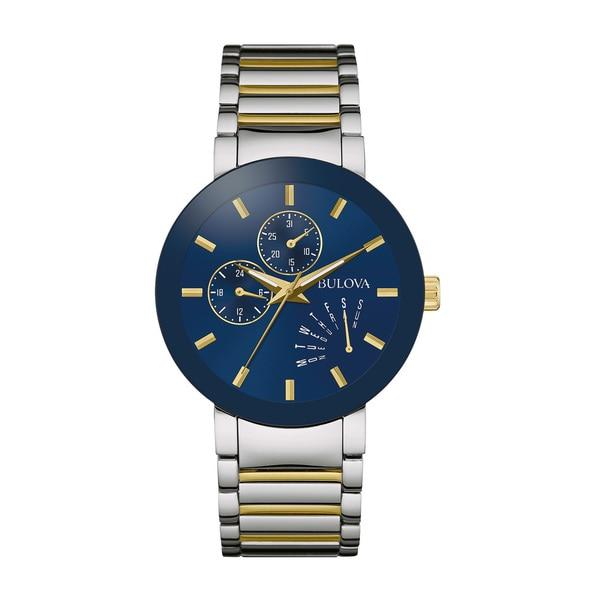 Bulova Men's 98C123 Stainless Steel Two-tone Water-resistant Watch