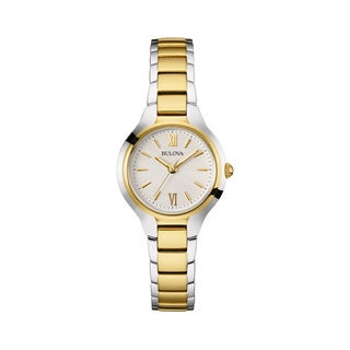 Bulova Women's 98L217 Two-tone Stainless Steel Water-resistant Watch
