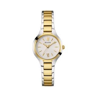Bulova Women's 98L217 Two-tone Stainless Steel Water-resistant Watch