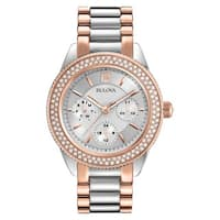Bulova  Women's Two-Tone Stainless-steel Water-resistant Watch