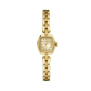 Bulova Goldtone Stainless Steel Women's Water-resistant Watch