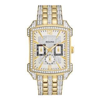 Bulova Men's Gold-tone Stainless Steel Water-resistant Watch