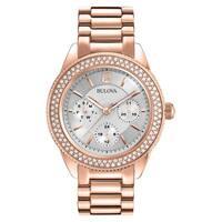 Bulova Rose Goldtone Stainless Steel Women's Water-resistant Watch