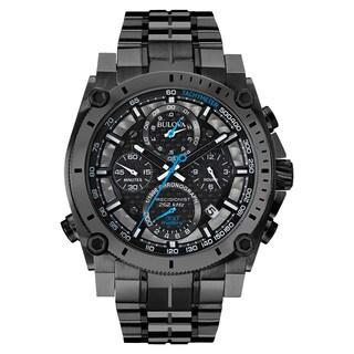 Bulova Men's 98B229 Black Stainless-steel Water-rwesistant Calendar Date Watch
