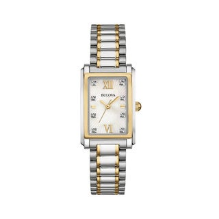Bulova Women's Two-tone Stainless Steel Water-resistant Watch