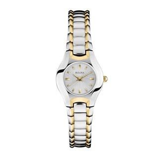 Bulova Women's 98T84 2-tone Stainless Steel Water-resistant Watch